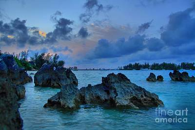 Photograph - Grotto Bay - Bermuda by DJ Florek