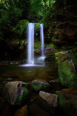 Photograph - Grotto Falls In The Smoky Mountains by Justin Kelefas