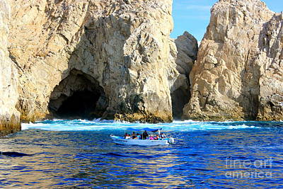 Photograph - Grotto Of  Cabo San Lucas Mexico by The Art of Alice Terrill