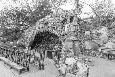 Photograph - Grotto Of Our Lady Of Lourdes 1 by John McGraw