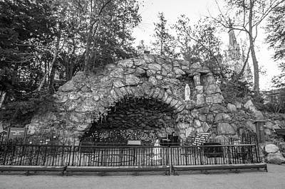 Photograph - Grotto Of Our Lady Of Lourdes 3 by John McGraw