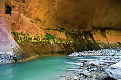Photograph - Grotto Watercolors by Michael Balen