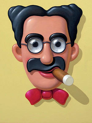 Groucho Marx Painting - Groucho Marx by Brian McCarthy