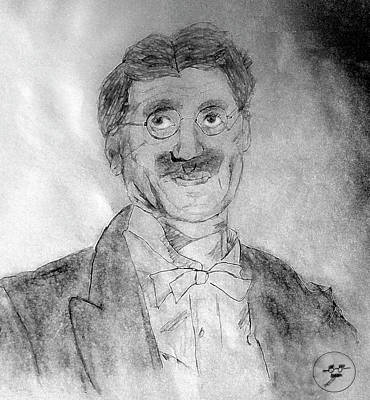 Drawing - Groucho Marx by David Bromley