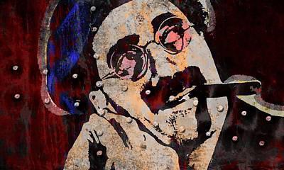 Groucho Marx Mixed Media - Groucho Marx by Otis Porritt