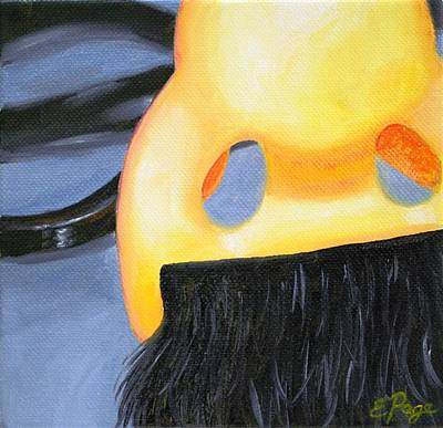 Marx Painting - Groucho Nose by Emily Page