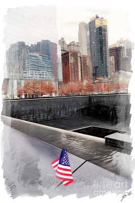 Photograph - Ground Zero by Erika Weber