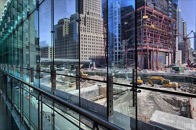 Ground Zero From World Financial Center Art Print by Robert Ullmann