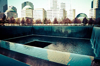 Jazz Mixed Media Royalty Free Images - Ground Zero Memorial Royalty-Free Image by Trish Tritz
