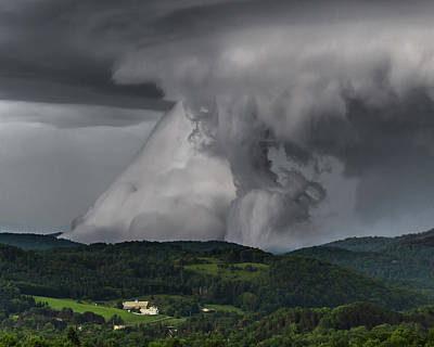 Photograph - Grounded Shelf Cloud by Tim Kirchoff