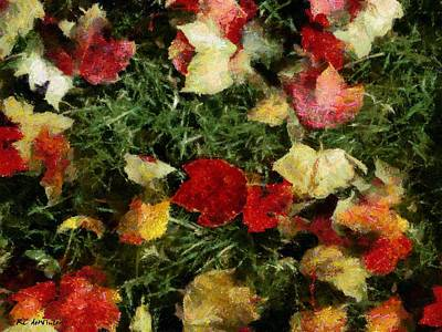 Painting - Groundlings by RC DeWinter