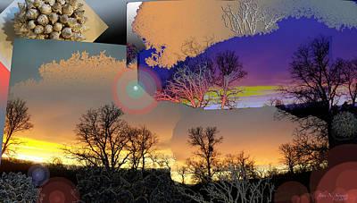 Digital Art - Grounds For Treezone by John Norman Stewart