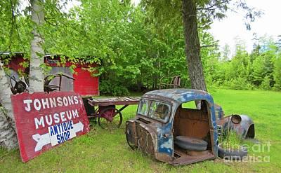 Grounds Of Antique Shop Original