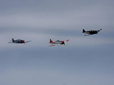 Photograph - Group Of P 51s by Charles McKelroy