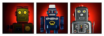 Group Robots Original by DRK Studios