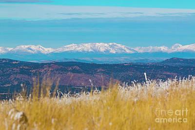 Photograph - Grouse Mountain And Collegiate Peaks by Steve Krull