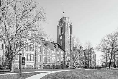 Diploma Photograph - Grove City College Rockwell Hall by University Icons