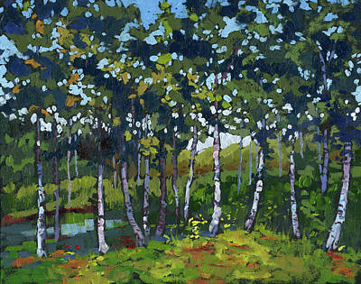 Painting - Grove by Marla Laubisch
