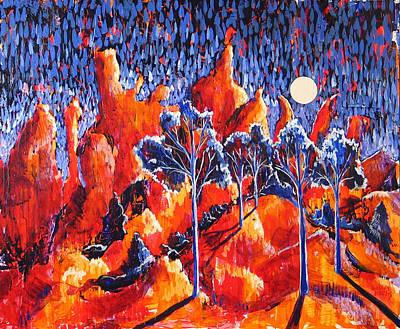 Grove Art Print by Rollin Kocsis