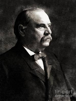 Grover Cleveland, President United States By John Springfield Art Print