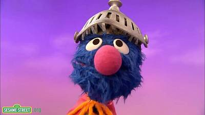 Photograph - Grover by Sesame Street