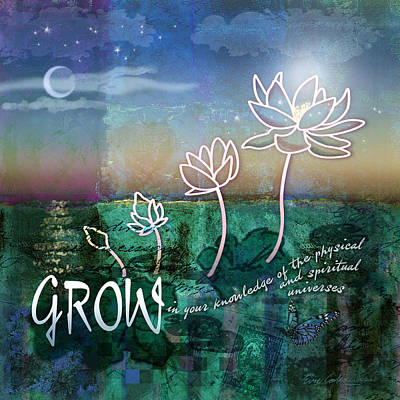 Digital Art - Grow by Evie Cook