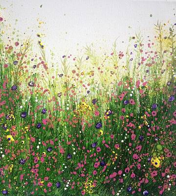 Painting - Grow Freely In The Beauty And Joy Of Each Day by T Fry-Green