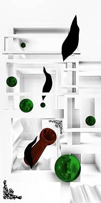 Shadow Digital Art - Grow To Up 4 by Alberto RuiZ