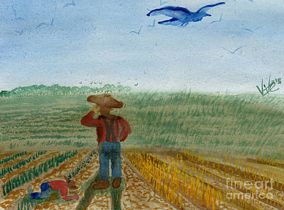 Painting - Grower's View by Victor Vosen