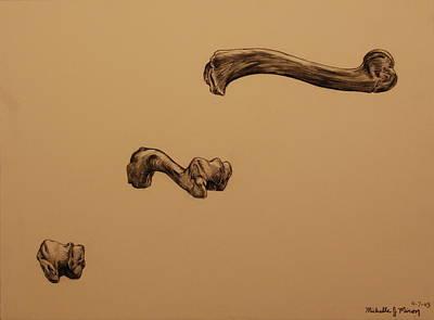 Growing Bone Art Print