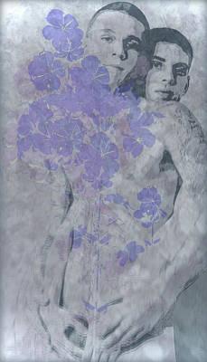 Digital Art - Growing Flowers - 2/10 by John Waiblinger