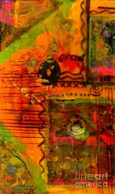 Mixed Media - Growing Gracefully by Angela L Walker