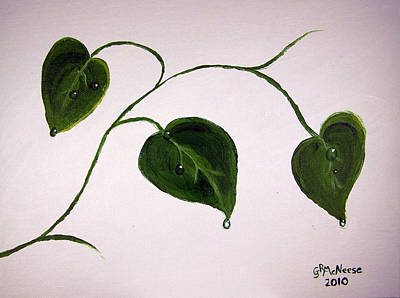 Growing Like Crazy Art Print by Georgie McNeese