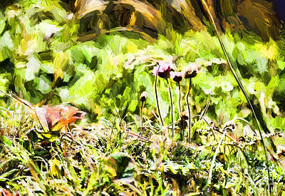 Safari - Growing Roadside by Flamingo Graphix John Ellis