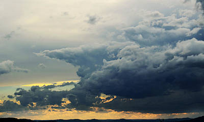 Photograph - Growing Thunderstorm by Ally White