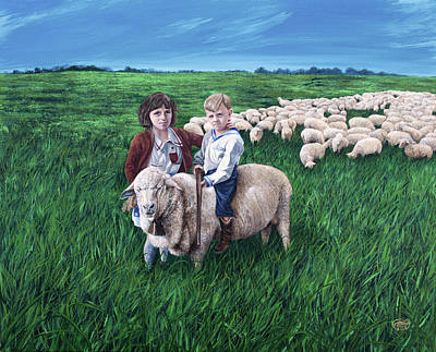 Painting - Growing Up Basque by Jessica Tookey