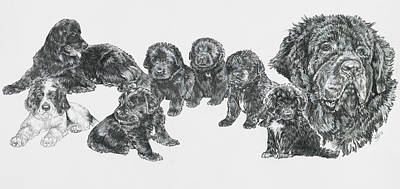 Drawing - Growing Up Newfoundland by Barbara Keith