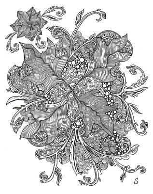 Growing Vines Art Print