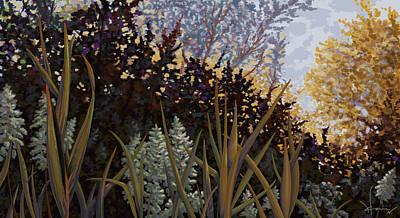 Painting - Growing Wild by Hans Neuhart