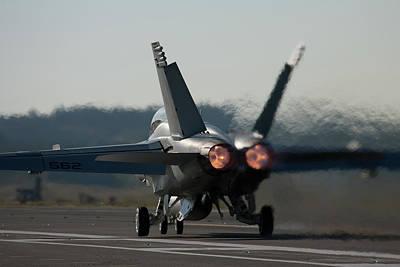 Photograph - Growler Burner Takeoff by John Clark