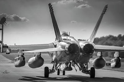 Photograph - Growlers Taxiing For Departure by Philip Rispin