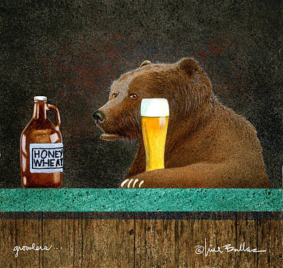 Painting - Growlers by Will Bullas