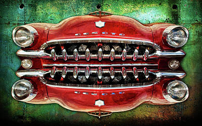 Digital Art - Growling Grill by Greg Sharpe