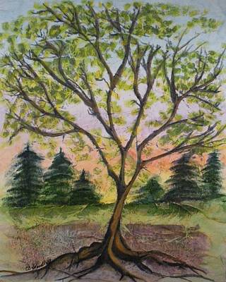 Growth Art Print by CB Woodling