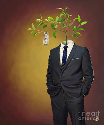 Digital Art - Growth by Rob Snow