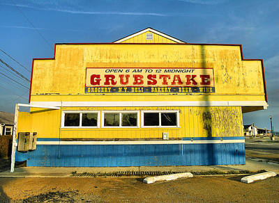 Grocery Store Photograph - Grubstake by Steven Ainsworth