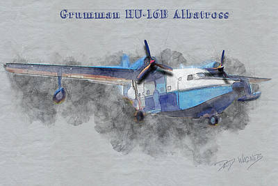 Mixed Media - Grumman Albatross by David Wagner