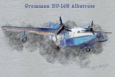 Mixed Media - Grumman Albatross by David Wagner
