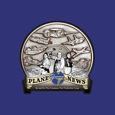 Grumman Plane News Art Print