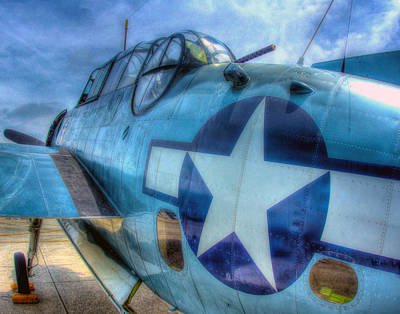 Photograph - Grumman Tbf Avenger 253 by Jeff Stallard